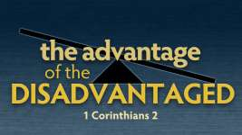 THE ADVANTAGE OF THE DISADVANTAGED