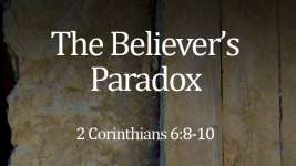 The Believer's Paradox