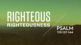 Righteous Righteousness