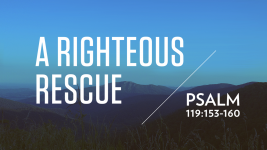 A Righteous Rescue