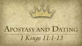 Apostasy and Dating