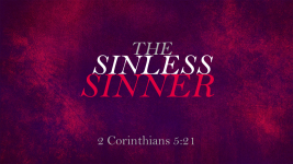 The Sinless Sinner