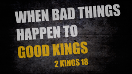 When Bad Things Happen to Good Kings