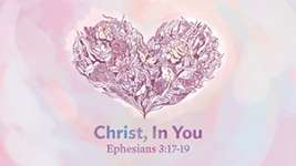 Christ, in You
