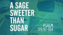 A Sage Sweeter Than Sugar