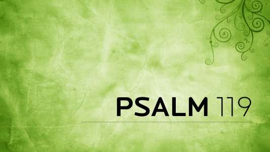 Psalm 119 - Immanuel Bible Church